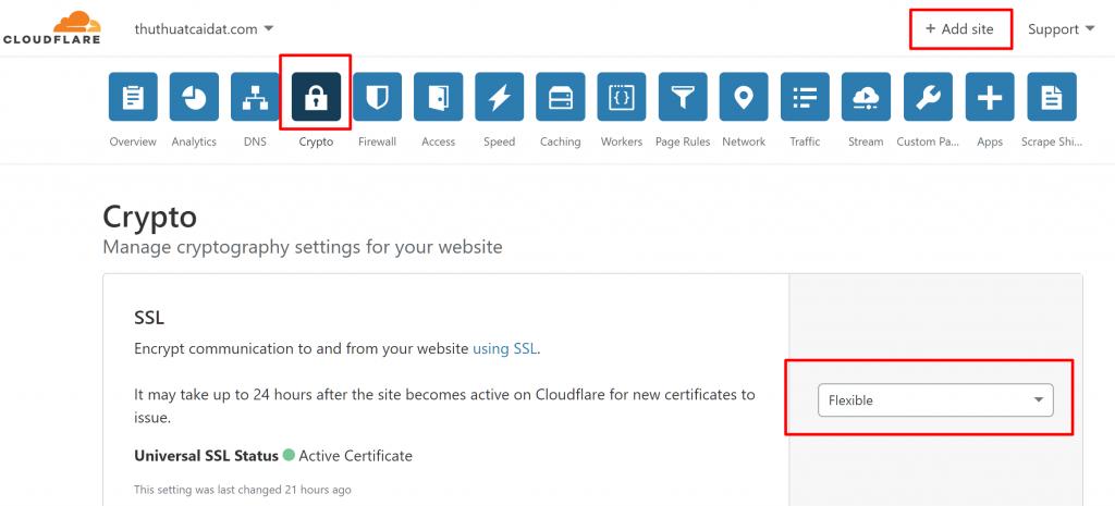 Cài Đặt SSL HTTPS CloudFlare cho WordPress trên OpenLiteSpeed 1