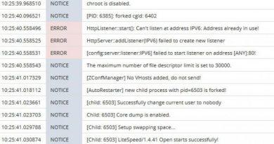 Fix Lỗi Port 80 Trên OpenLiteSpeed 4